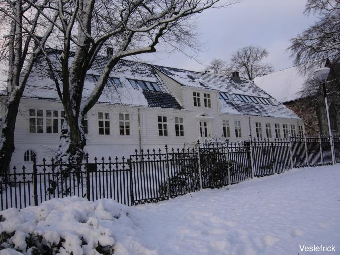 Kongsgård in snow